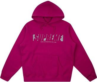 Supreme Reflective Cutout hoodie