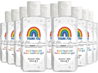 Little Mistress X Kindred Rainbow Thank You Nhs Hand Sanitiser - Pack of 10