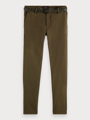 Scotch & Soda Mott - Garment Dyed Chinos Super slim fit   Men