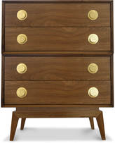 Jonathan Adler Claude Walnut Four-Drawer Dresser