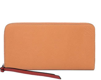 Loewe Two-Tone Leather Zip Wallet
