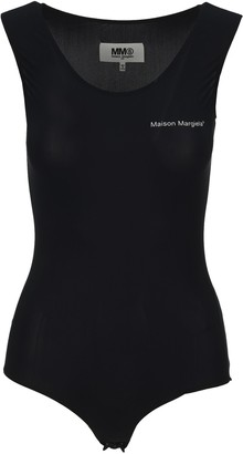MM6 MAISON MARGIELA Logo Sleeveless Bodysuit