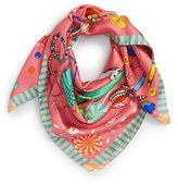 Women's Karen Mabon 'Bedroom Floor' Silk Square Scarf