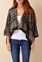 Eunishop Black Gold Cardigan
