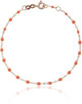 Gigi Clozeau orange RG bead rose gold bracelet