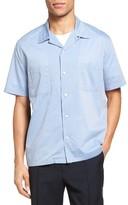 Vince Men's Cabana Cotton Camp Shirt