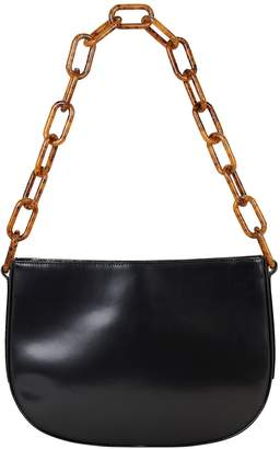 BY FAR Pelle Chain Leather Shoulder Bag