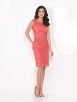Mon Cheri Social Occasions - Two-Piece Beaded Scoop Neck Dress 115871