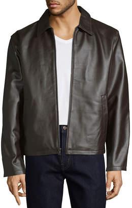 VINTAG HairE LEATHER Vintage Leather Zipper Jacket