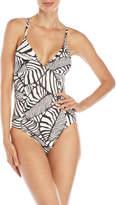 Splendid One-Piece Stripe Swimsuit