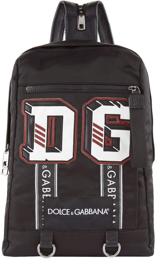 Dolce & Gabbana Logo Appliqué Backpack