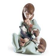 Lladro SALE Porcelain CAT NAP 010.05640 Worldwide Shipping