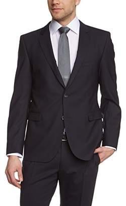 Strellson Premium Men's Reverse Collar Long Sleeve Suit Jacket,(Manufacturer Size: 50)