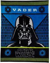 Star Wars Darth Vader Plush Throw