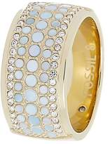 Fossil Ring goldcoloured