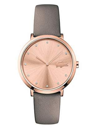 Lacoste Unisex-Adult Analogue Classic Quartz Watch with Leather Strap 2001039
