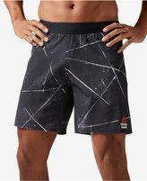 "Reebok Men's 8"" CrossFit Super Nasty Speed Printed Shorts"