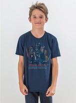 Junk Food Clothing Kids Boys Star Wars Tee-new Navy-xs