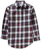 Class Club Big Boys 8-20 Plaid Shirt