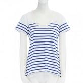 Sacai Blue Cotton Top for Women