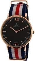 Kapten And Son Men's Campus CAMPUS-BLACK-RACER-ROSE -40MM Rose Nylon Quartz Watch