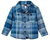 Tea Collection Mashu Plaid Shirt (Baby Boys)