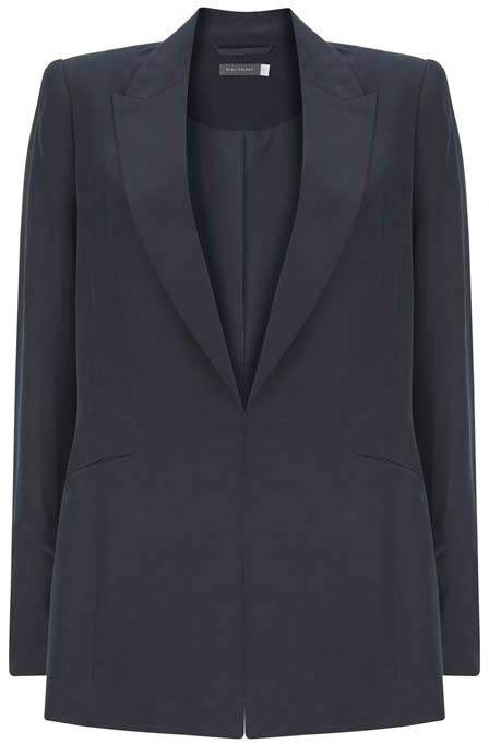 Mint Velvet Navy Tailored Blazer