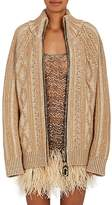 Marc Jacobs Women's Cable-Knit Wool-Cashmere Cardigan