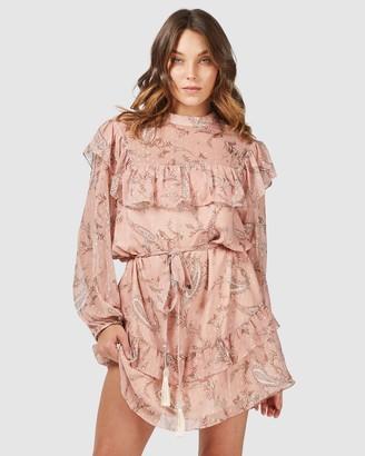 Three of Something Cybele Paisley Folk Dress