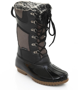Sand Storm Women's Cold Weather Boots Brown - Brown Duck Boot - Women