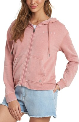 Roxy Go for It Zip-Up Fleece Hoodie