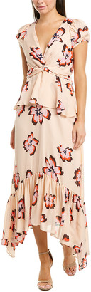 A.L.C. Zadie Silk Midi Dress