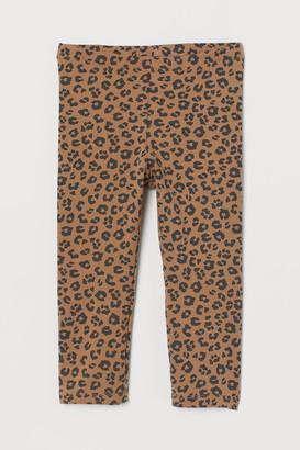 H&M 3/4-length Leggings - Beige