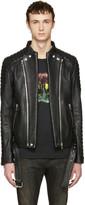 Balmain Black Biker Jacket