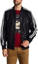 X-Ray Faux Leather Motorcross Jacket