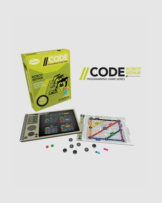 ThinkFun - Yellow Games - --CODE Robot Repair Game - Size One Size at The Iconic