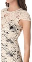 L'Agence Cap Sleeve Dress
