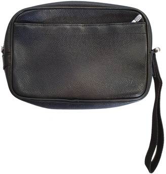 Louis Vuitton Kaluga Black Leather Bags