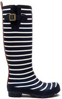 Joules Blue Printfns Welly Print French Navy