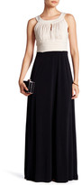 Sangria Keyhole Maxi Dress (Petite)