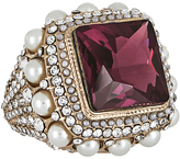 Accessorize Pearl Surround Cocktail Ring