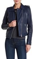 Doma Thick Lamb Nappa Leather Jacket
