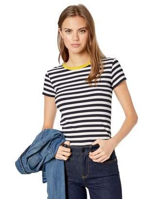 Bailey 44 Women's Maritime Rib Short Sleeve Stripe Tee