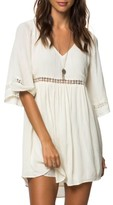 O'Neill Women's Jessika Lace Trim Gauze Dress