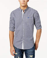 American Rag Men's Long Sleeve Checked Shirt, Created for Macy's