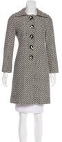 Milly Wool-Blend Knee-Length Coat