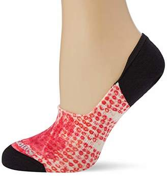 Smartwool Women's Curated Hibiscus Bliss No Show Socks,Medium (Size:M)