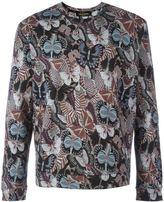 Valentino 'Rockstud' Japanese butterfly sweatshirt