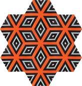 Kinder GROUND Honeycomb Carpet - Cubist (7 piece Hexagon)