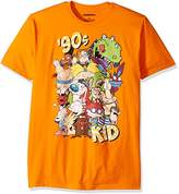 Nickelodeon Men's Ren and Stimpy, Rugrats and Classic Show Characters T-Shirt